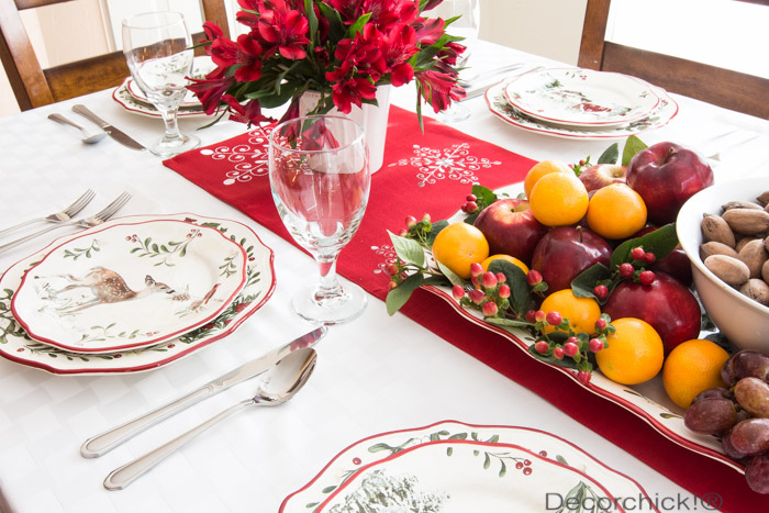 Holiday Tablescape | Decorchick!®