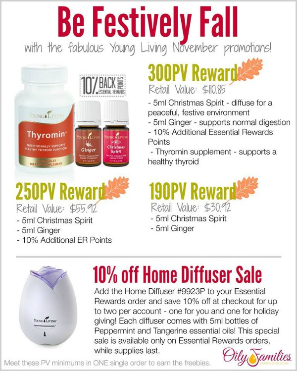 November Promotion Young Living | Decorchick!®