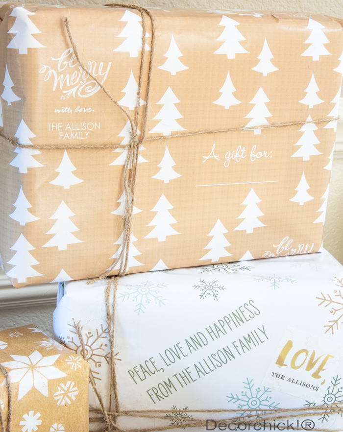 Personalized Wrapping Paper | Decorchick!®