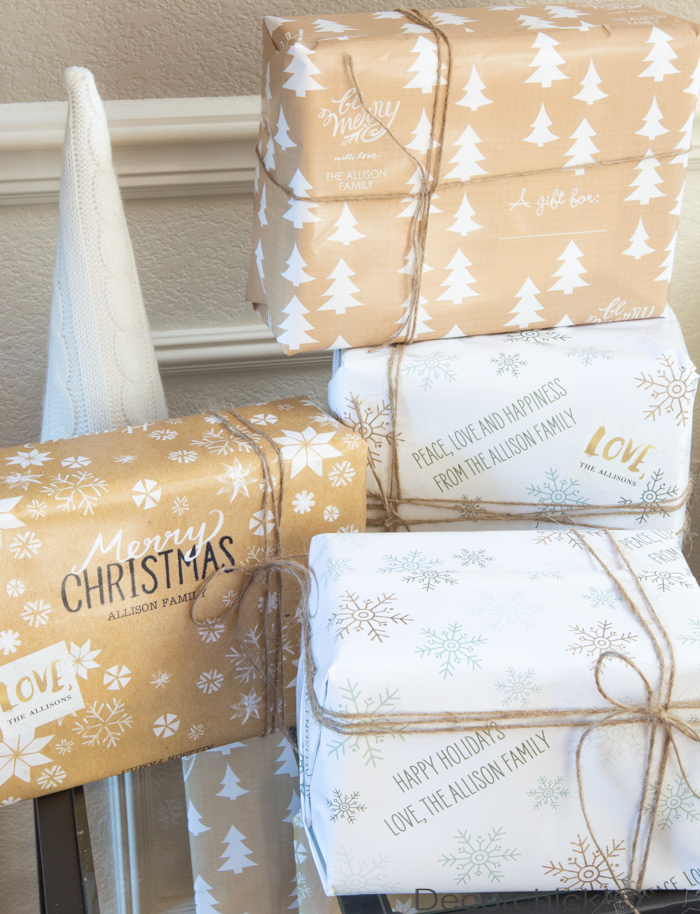 Tiny Prints Wrapping Paper | Decorchick!®