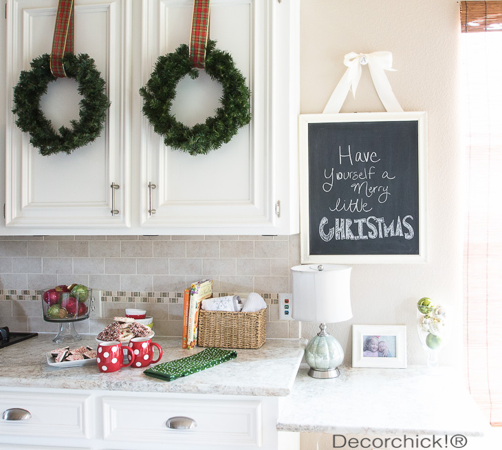 Christmas Chalkboard | Decorchick!®