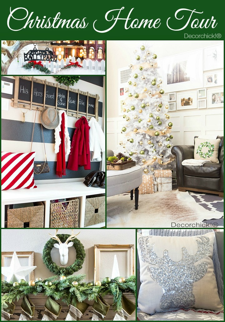 Christmas Home Tour at Decorchick!®