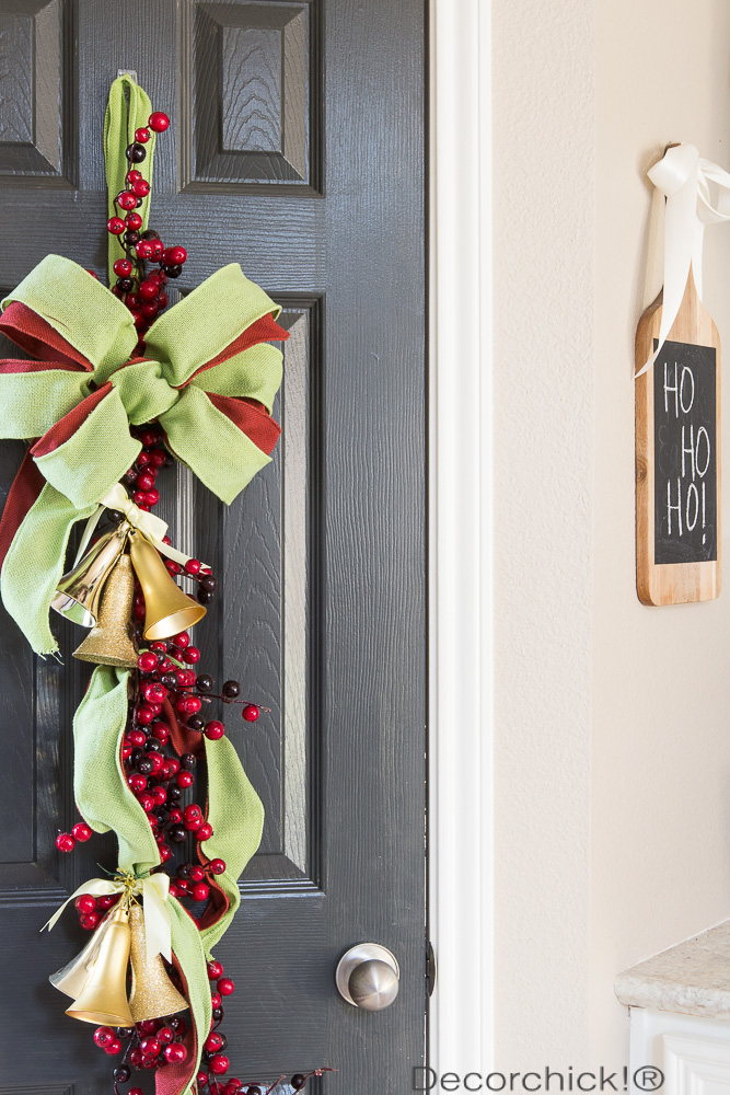 Christmas Door Swag | Decorchick!®