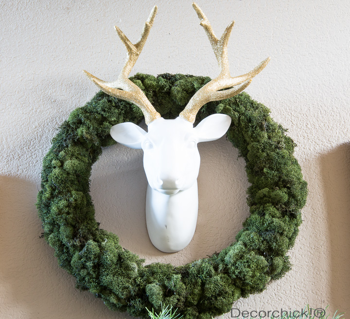 Glitter Deer Head | Decorchick!®