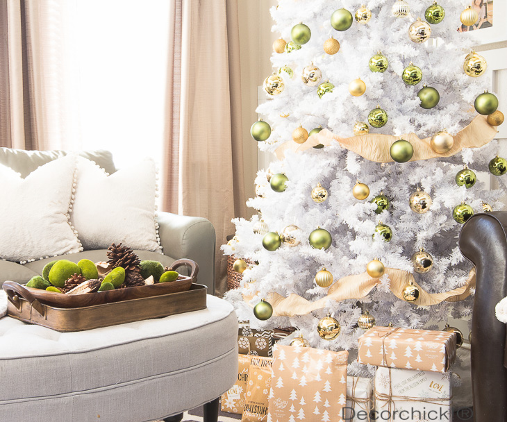 Green and Gold Tree | Decorchick!®
