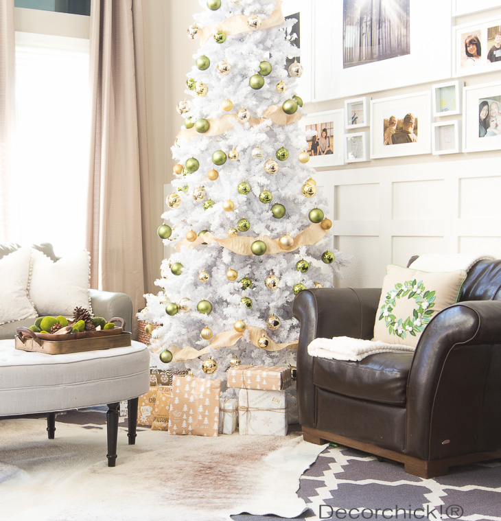 Green and Gold Christmas Tree | Decorchick!®