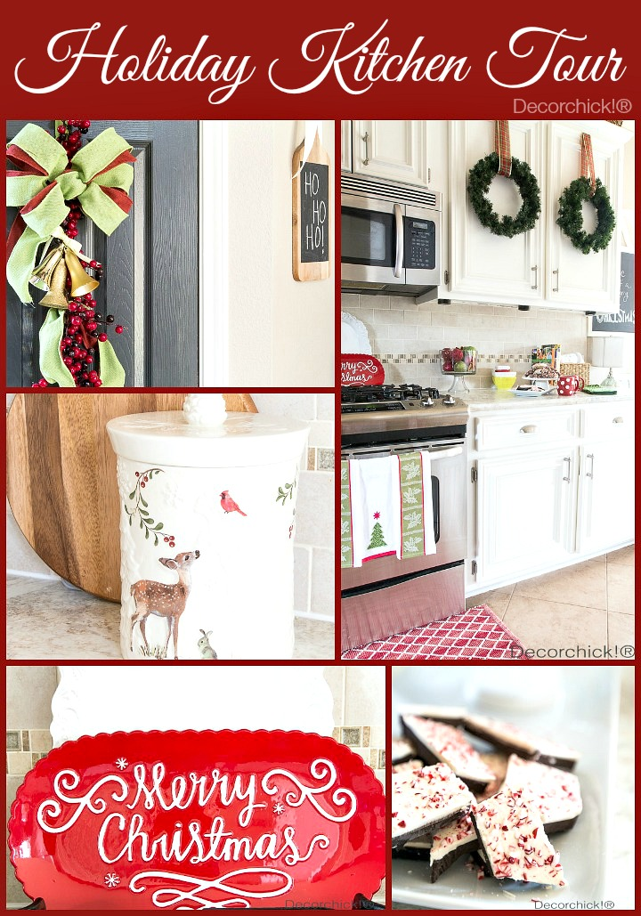 Holiday Kitchen Home Tour | Decorchick!®