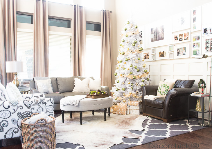 Holiday Living Room | Decorchick!®
