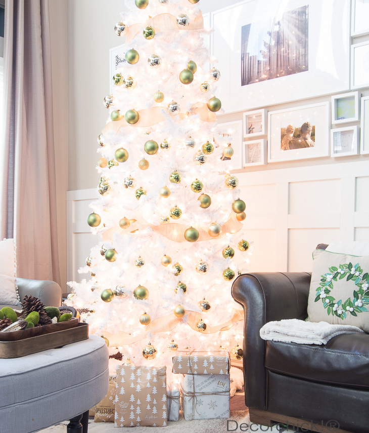 Lit Tree in Day | Decorchick!®