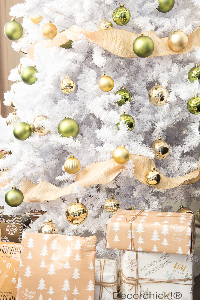White Flocked Tree | Decorchick!®