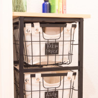 Bathroom Organization Cart | Decorchick!®