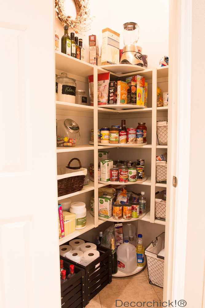 Pantry Overhaul | Decorchick!®