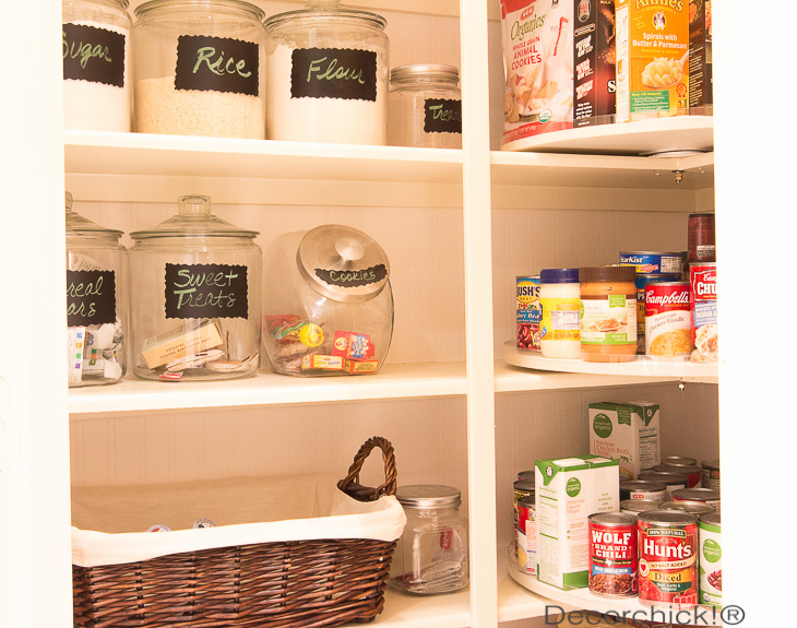 Glass Jars in Pantry | Decorchick!®