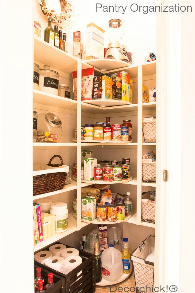 Organized Pantry Update | Decorchick!®