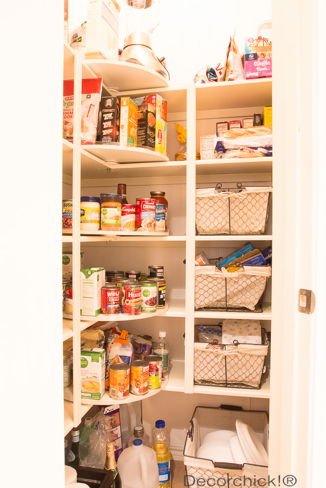 Pantry Makeover | Decorchick!®