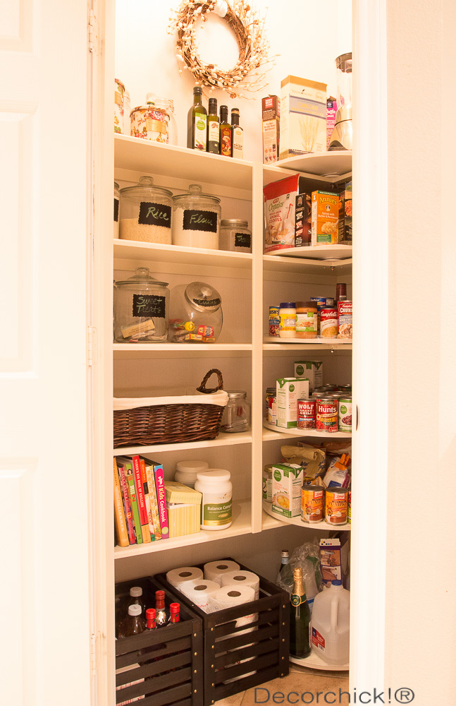 Pantry Organization | Decorchick!®