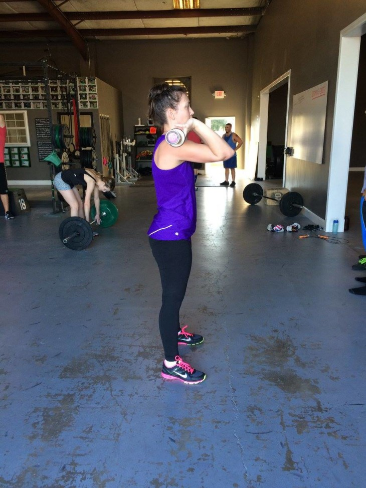 How I'm loving crossfit and Power Cleans | Decorchick!®