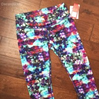 Athleta Watercolor Capris | Decorchick!®