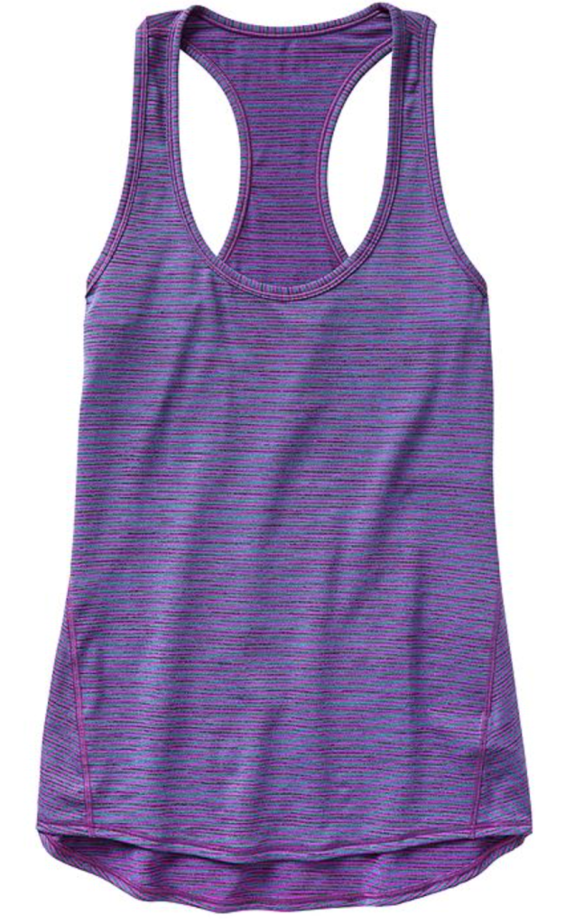 Purple Athleta Tank | Decorchick!®