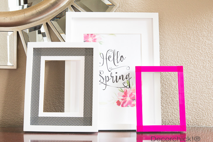 Hello Spring and Colorful Frames | Decorchick!®