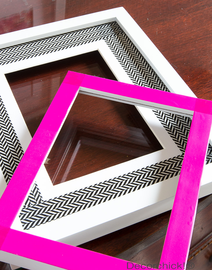 Washi Tape Frames | Decorchick!®