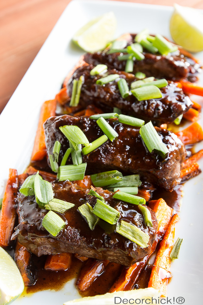 Hoisin Ponzu Glazed Steaks | Decorchick!®
