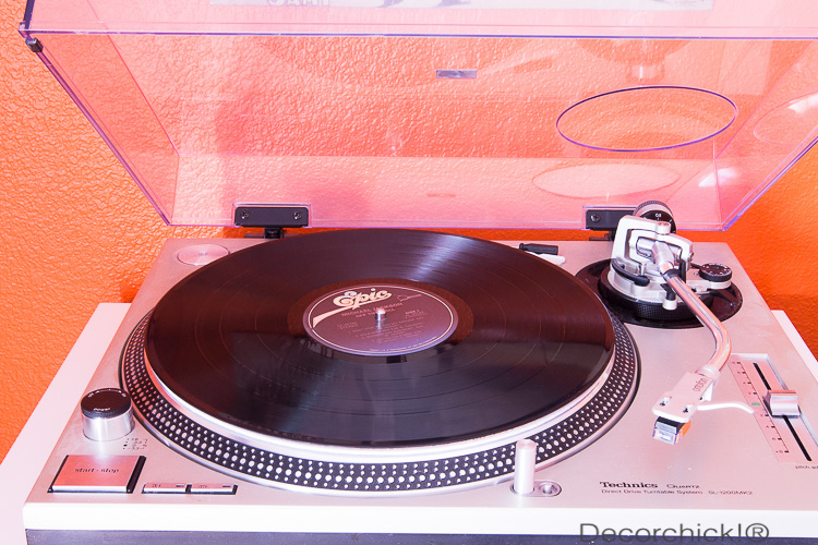 Techniqs Record Player | Decorchick!®