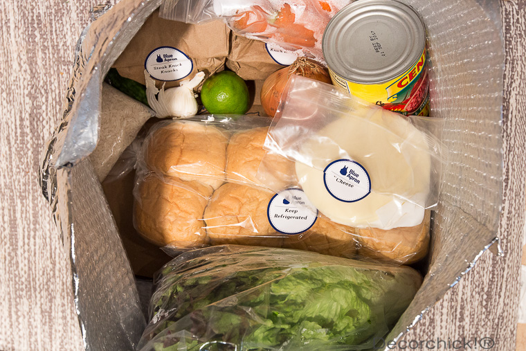 Blue Apron Delivery | Decorchick!®
