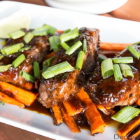Roasted Carrots and Steak | Decorchick!®