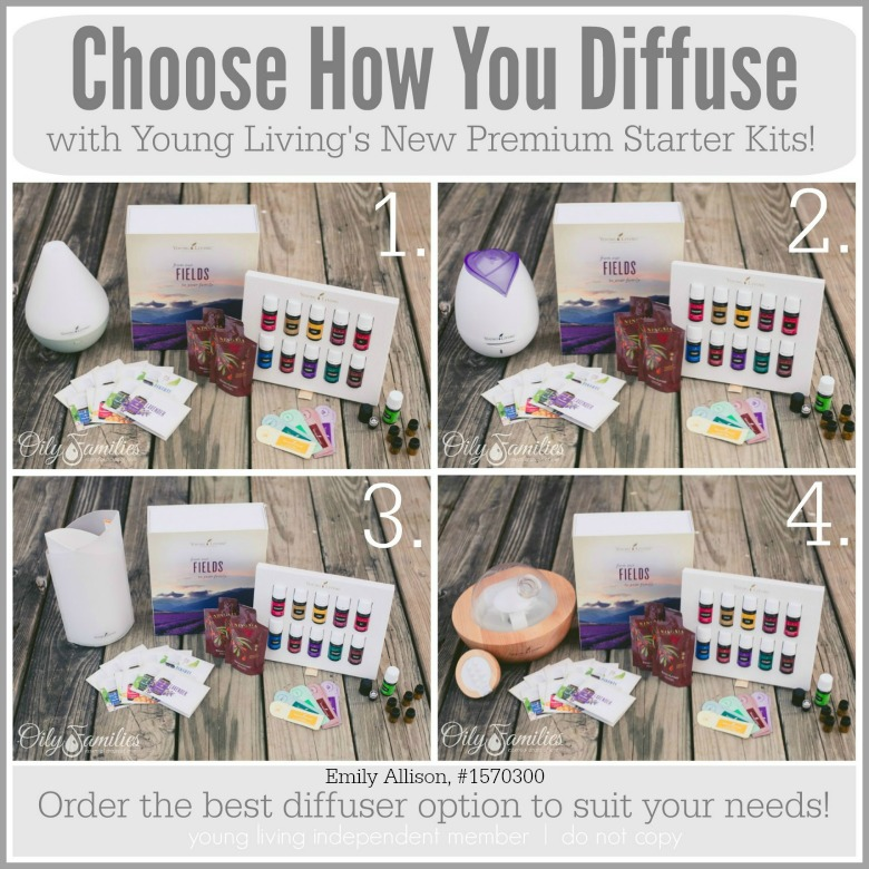Young Living Diffuser Options on Starter Kit | Decorchick@