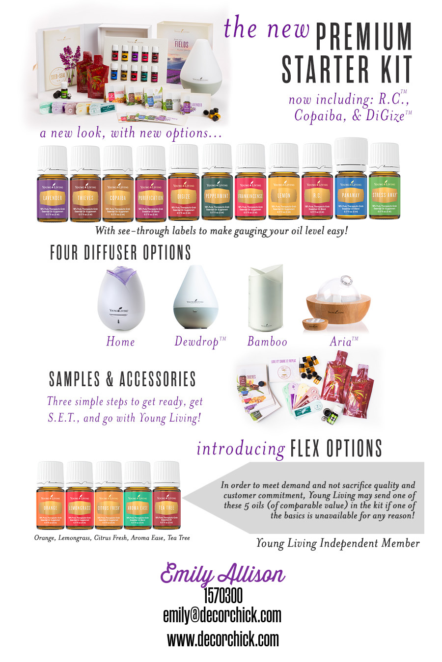 New Young Living Premium Starter Kit | Decorchick!®