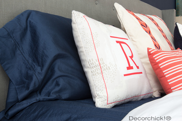 Navy Sheets from BHG at Walmart | Decorchick!®