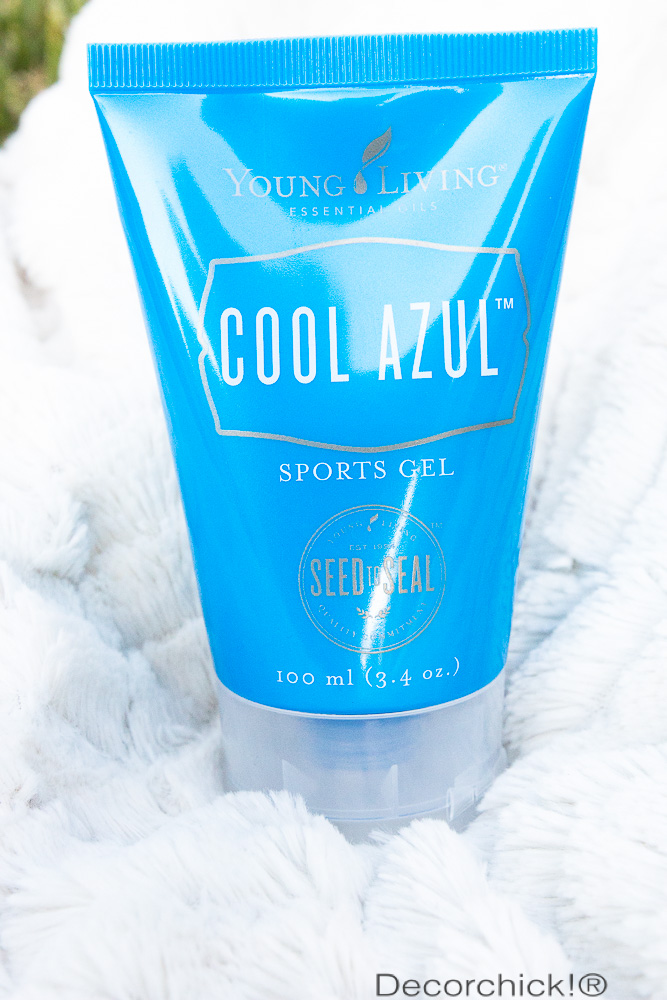 Cool Azul Sports Gel | Decorchick!®