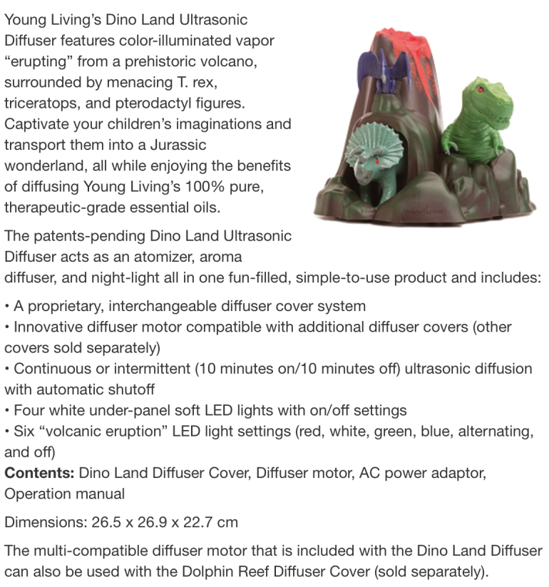 Dino Land Diffuser | Decorchick!®