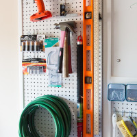 Peg Board Organization | Decorchick!®