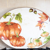 BHG Pumpkin Platter | Decorchick!®