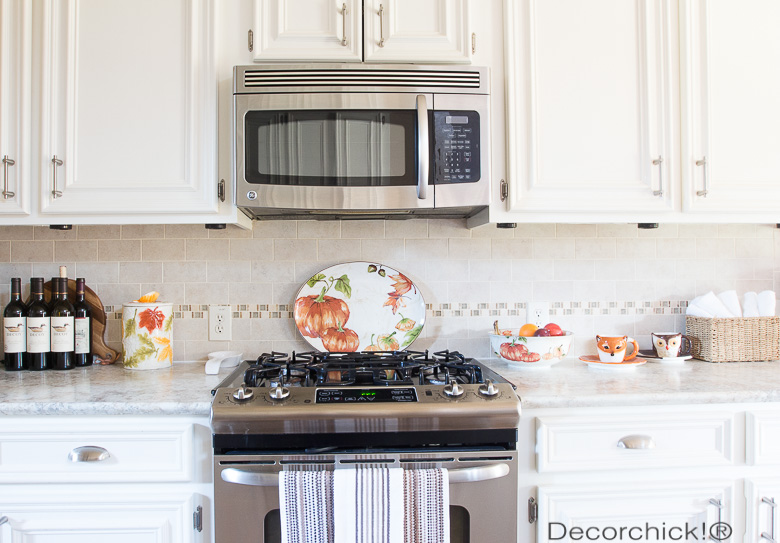 Fall Decor in the Kitchen | Decorchick!®