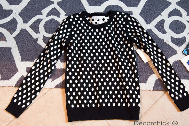 Polka Dot Sweater from Stitch Fix | Decorchick!®