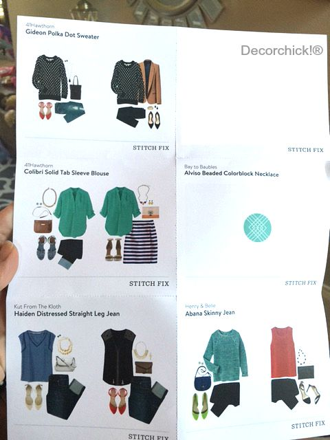 Stitch Fix Style Sheet