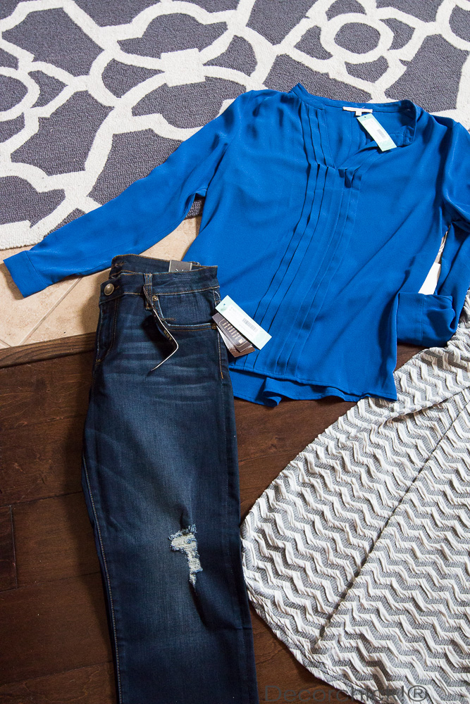 Stitch Fix Top and Jeans | Decorchick!®