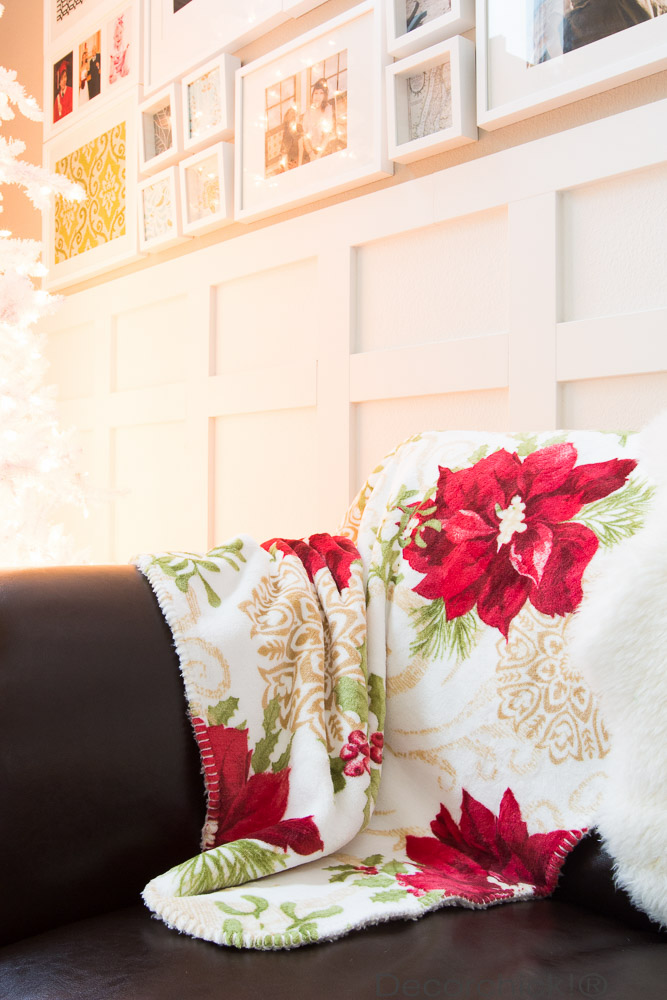 Stunning Poinsettia Throw From BHG at Walmart Decorchick