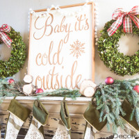 Baby It's Cold Outside Sign | Decorchick!®