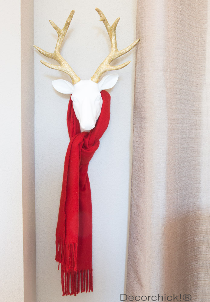 Deer Gold Antlers | Decorchick!®