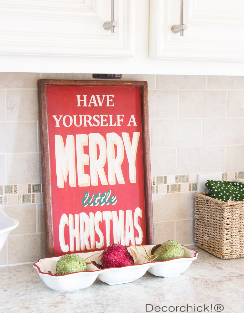 Have Yourself a Merry Little Christmas | Decorchick!®