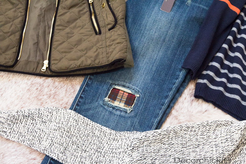Patched Jeans | Decorchick!®