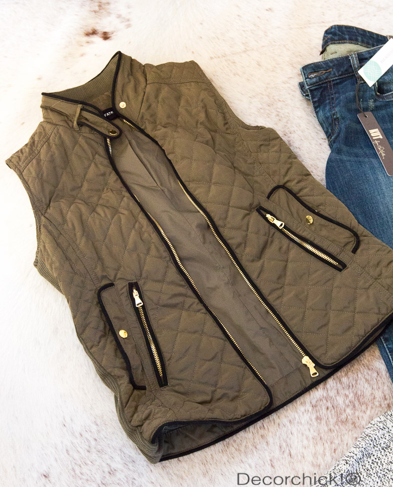 Quilted Vest | Decorchick!®