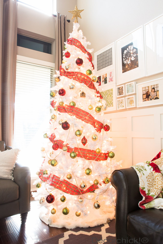 White Christmas Tree | Decorchick!®