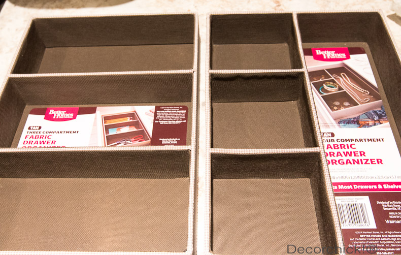 BHG Drawer Organizers | Decorchick!®