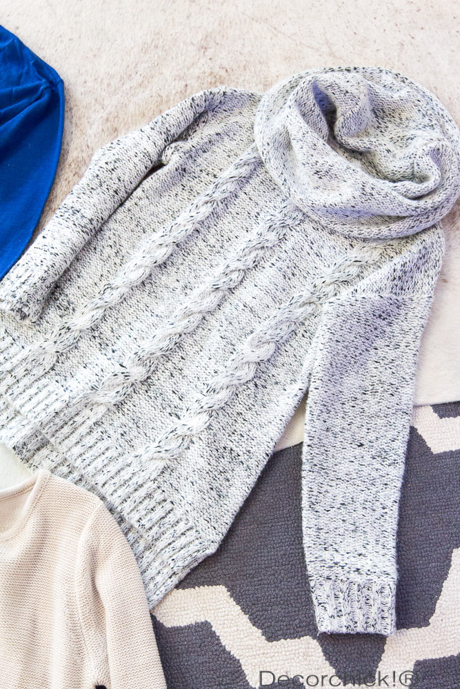 Cable Knit Sweater | Decorchick!®