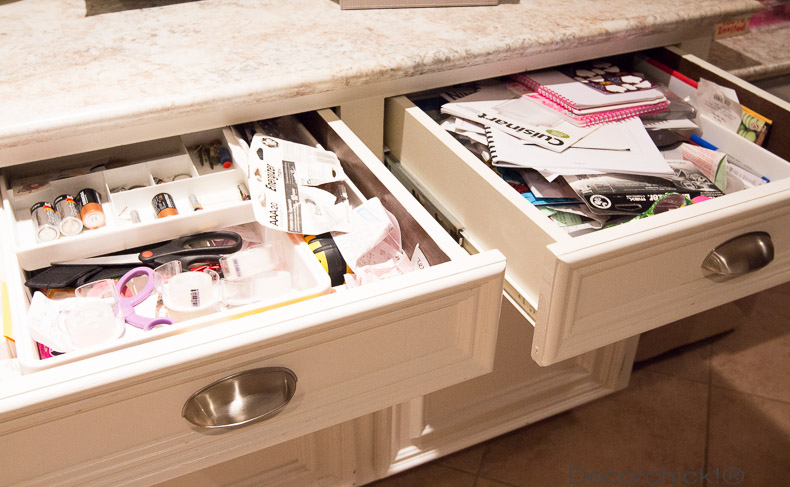 Junk Drawer Mess | Decorchick!®